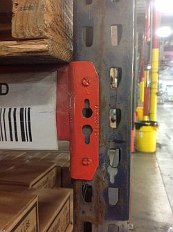 Interlake pallet racking with new style profile