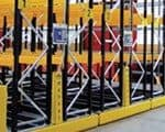 GlideRack – Mobile Racking provides 100% selectivity