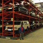 Racking for automobile storage in South Africa