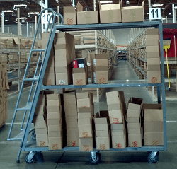 New warehouse setup requires understanding of picking an order