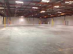 new warehouse design starts with an empty warehouse