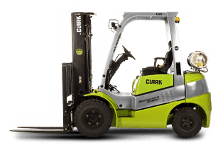 Clark GPS forklift manual and Clark GCS forklift manual