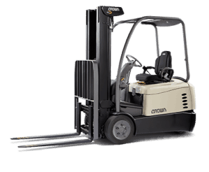 Crown Equipment Corporation makes forklifts