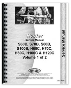 Hyster H80c Forklift Service Manual 500 Page Hardcopy Via Amazon