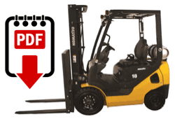 Komatsu forklift manual library | Download the PDF forklift manuals
