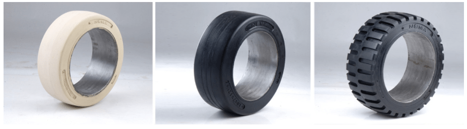 cushion tires for forklifts