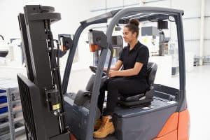 Get a forklift drivers license