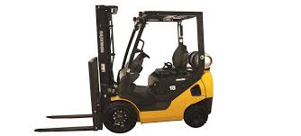 What does a Komatsu forklift look like