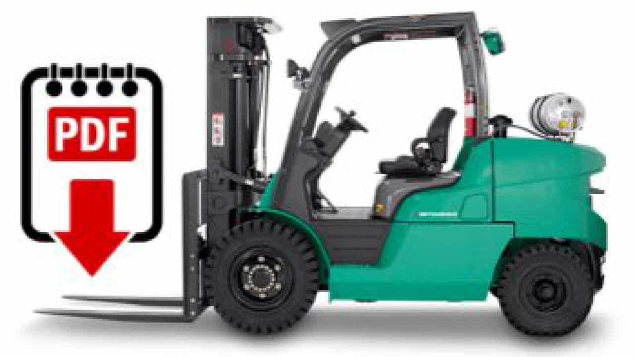 mitsubishi forklift service manual library | download pdf forklift manuals  you need