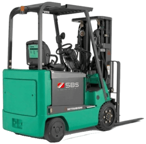 Forklift service manuals for Mitsubishi electric sit down