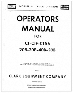 Clark forklift service manual clipper user guide manual that easy vintage clark service manuals get old clark service manuals in pdf rh warehouseiq com clark electric forklift clark forklift parts diagram fandeluxe Choice Image