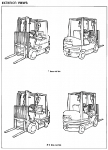toyota forklift 6 series service manuals available as pdf download forklift  engine diagram toyota forklift 6