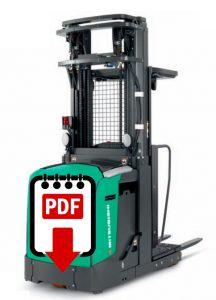 Mitsubishi Forklift Repair Manuals for EOP15 Series