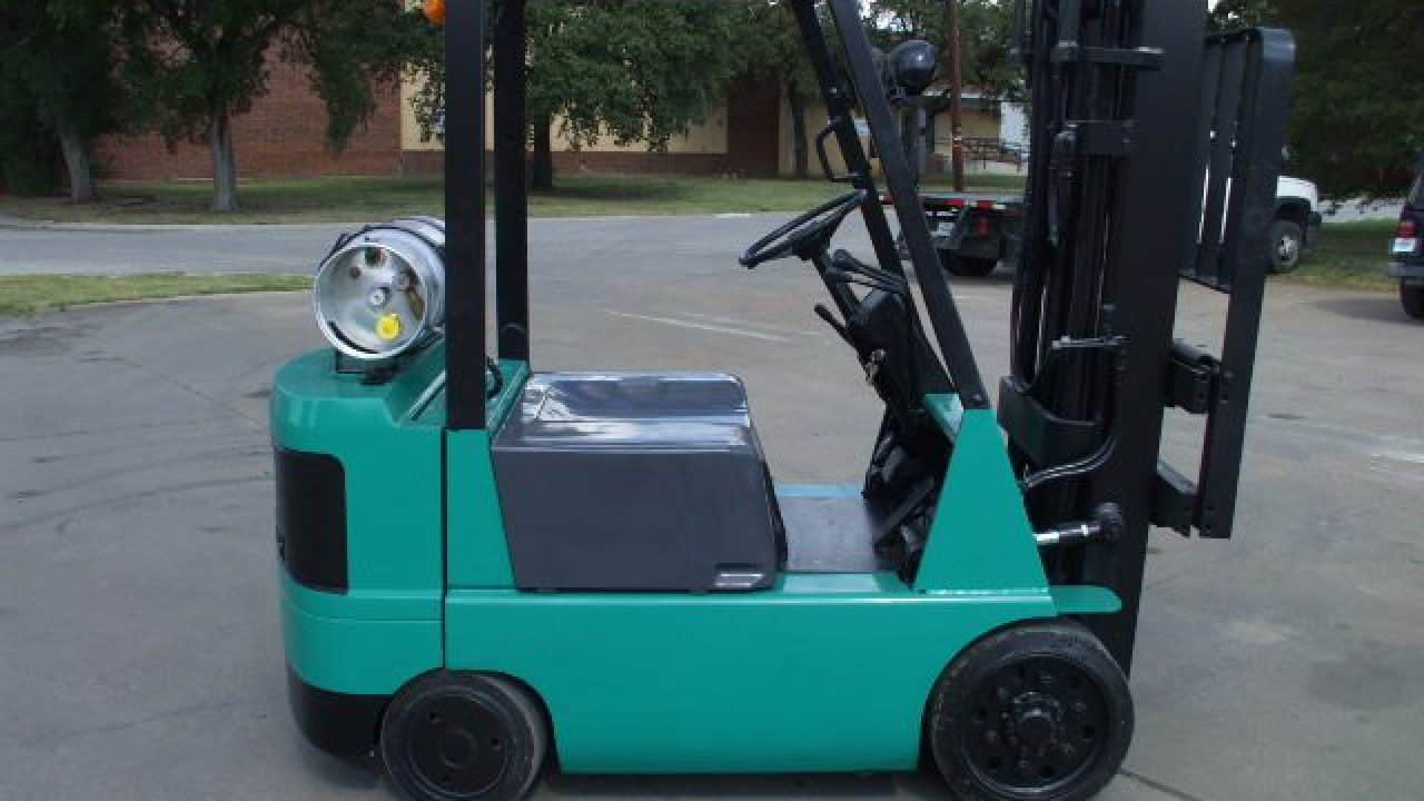 Mitsubishi forklift FGC25 series manuals   Download PDFs instantly