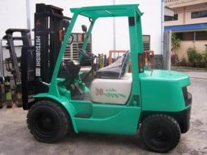 Mitsubishi Forklift Repair Manuals for FDC25 Series