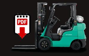 Mitsubishi Forklift Repair Manuals for FGC15N Series