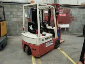 Nissan Forklift Manuals for Series A01