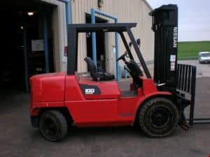 Nissan forklift F04B and F04D series manual