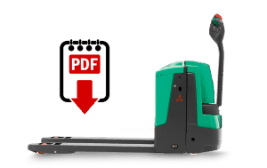 Mitsubishi Forklift Repair Manuals for PW30 Series