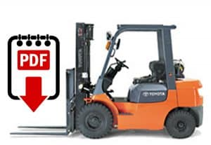 toyota forklift service manual 7fgu15 series download pdfs instantly rh warehouseiq com