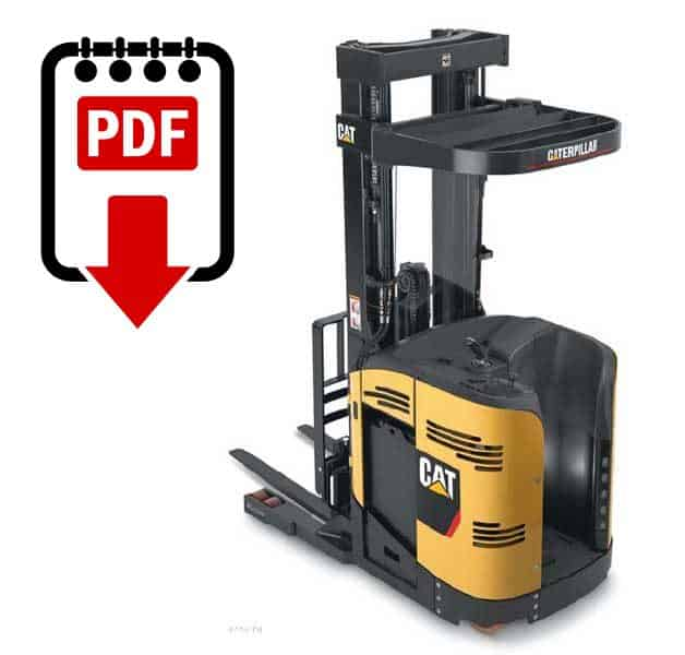 Caterpillar NR3000 forklift service manual series ...