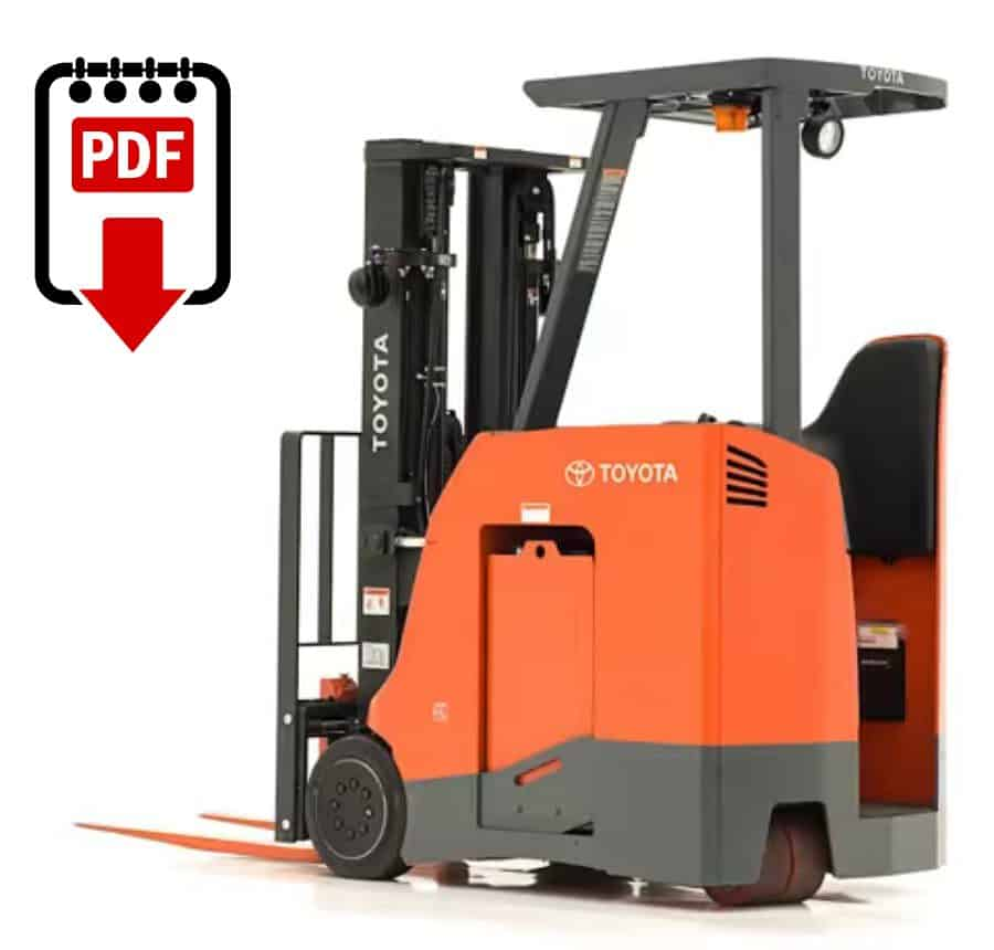 Toyota Forklift Service Manual 6BNCUE15 Series Download
