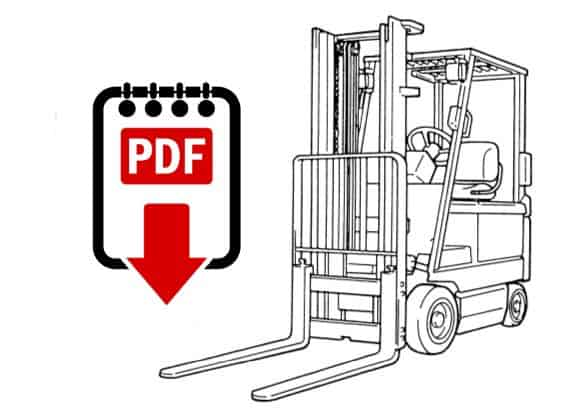toyota forklift service manual 6fgcu15 series download electric forklift trucks pdf manuals