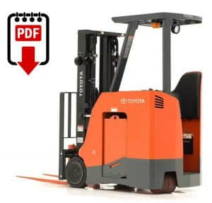 Forklift Repair Manuals for 7BNCU15 Series