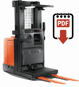 Toyota 7BPUE15 Forklift Service Manual