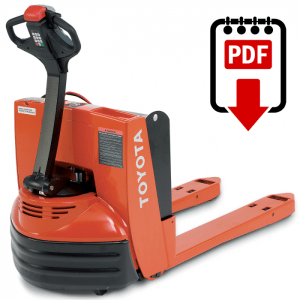 Toyota forklift manual 4 series