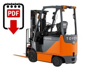 toyota forklift service manual 8fbcu20 series download pdfs instantly rh warehouseiq com Toyota 7HBW23 Toyota 7FBCU15