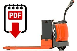 Forklift Repair Manuals for 8HBW30 Series