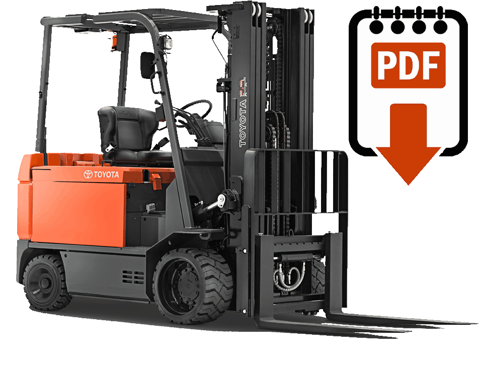 Toyota Forklift Manuals Find The Lift Truck Manual For Your. Toyota Forklift Manuals Find The Lift Truck Manual For Your. Toyota. Toyota Forklift 42 6fgcu25 Wiring Diagram At Scoala.co