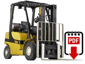 counterbalanced forklift service manual pdf