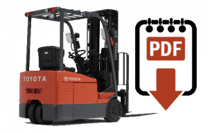 toyota 7fbeu15 forklift service manual download pdfs instantly rh warehouseiq com Toyota 7FGCU25 Spec Sheet toyota 7fbeu15 forklift service manual