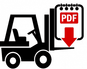 Toyota 7FGF15 Forklift Repair Manual