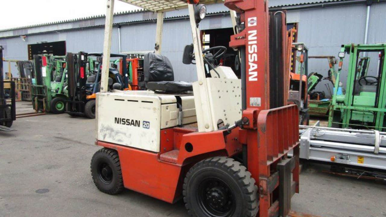Nissan B01 and B02 forklift parts manual | Download PDFs