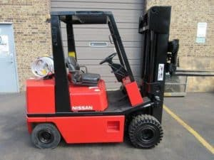 Nissan H01 and H02 Forklift Operation Manual