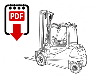 Linde 115-03 Series Forklift Repair Manual