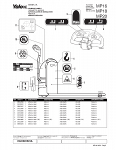 Yale forklift parts manual | Download the PDF parts manual