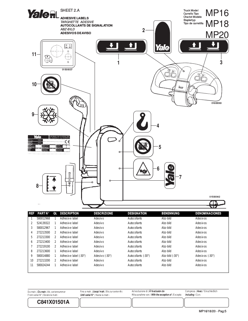 Yale 690f Electronic Wiring Diagram Control Electric Forklift And