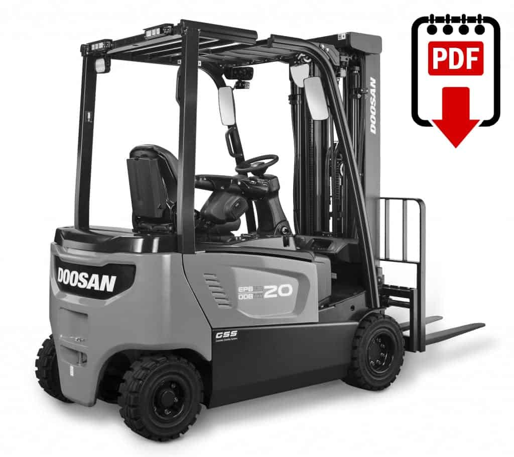Doosan Forklift Wiring Diagram Schematics Diagrams Hyster E60 Daewoo Manual Download Pdf Instantly Rh Warehouseiq Com Tcm