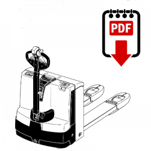 Jungheinrich EJE120 Forklift Operation, Parts and Repair Manual