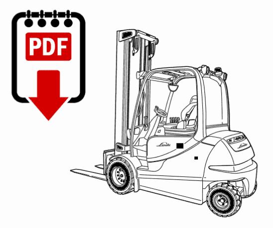 Linde Forklift Parts Manual