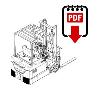 Toyota 6BPU15 Forklift Parts and Repair Manual