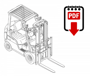 Mitsubishi 4G3 Forklift Engine Repair Manual