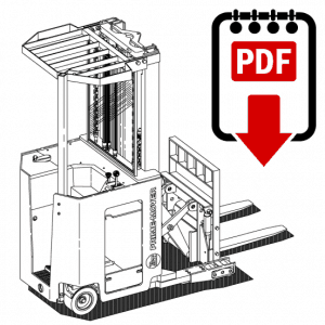 BT CMX60 Forklift Operation, Parts and Repair Manual