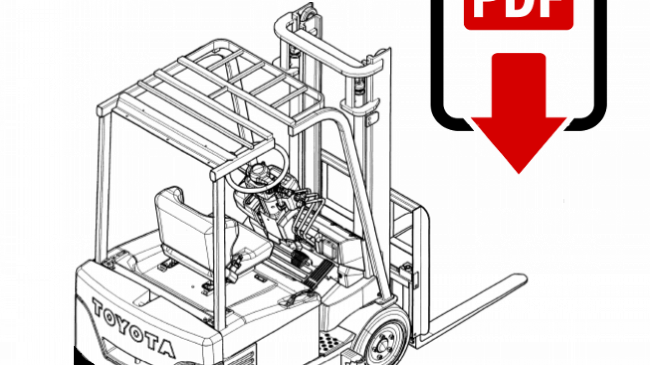 Toyota 5FG10 Forklift Repair Manual   Download PDFs instantly