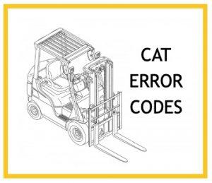 Caterpillar error codes