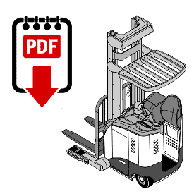 Crown FC4000 Forklift Operation, Parts and Repair Manual PDF